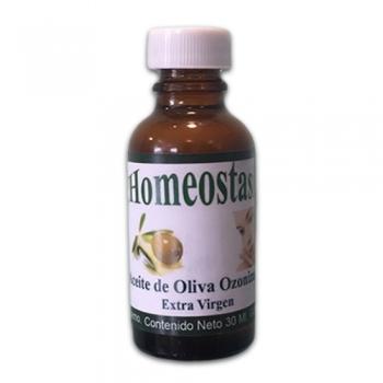 Aceite Ozonizado de Oliva Extra Virgen; 30 ml.