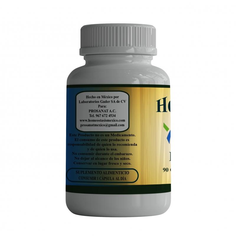 Citrato de Potasio. 90 Cápsulas de 500 mg.